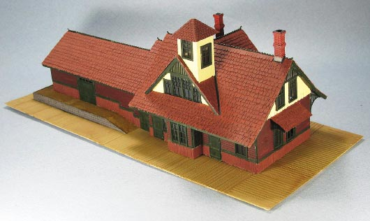 Rico Station Kitbash In Ho Scale Hon3 Annual