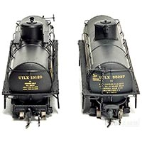 Blackstone Models UTLX narrow gauge tank cars